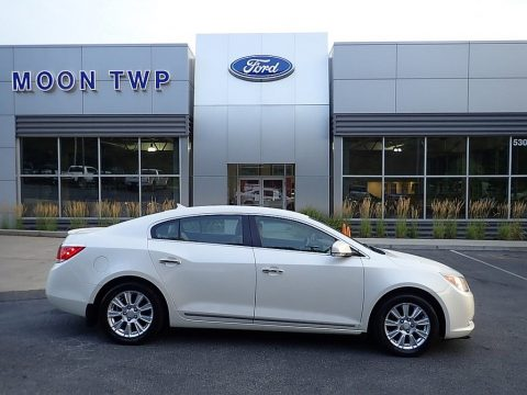 White Diamond Tricoat Buick LaCrosse FWD.  Click to enlarge.