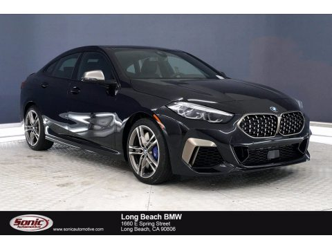 Black Sapphire Metallic BMW 2 Series M235i xDrive Grand Coupe.  Click to enlarge.