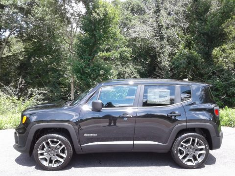Black Jeep Renegade Sport 4x4.  Click to enlarge.