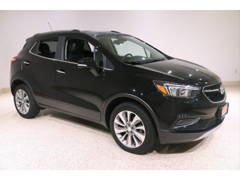 Ebony Twilight Metallic Buick Encore Preferred AWD.  Click to enlarge.