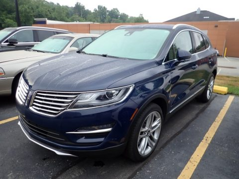 Rhapsody Blue Lincoln MKC Reserve AWD.  Click to enlarge.