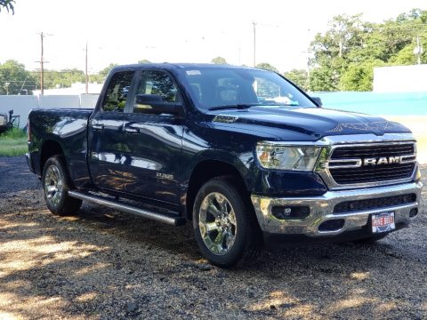 Hydro Blue Pearl Ram 1500 Big Horn Quad Cab 4x4.  Click to enlarge.
