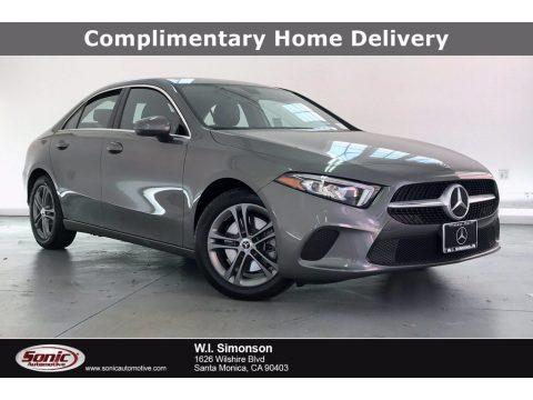Mountain Grey Metallic Mercedes-Benz A 220 Sedan.  Click to enlarge.