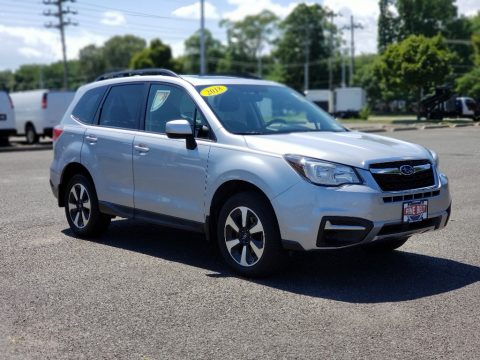 Ice Silver Metallic Subaru Forester 2.5i Premium.  Click to enlarge.