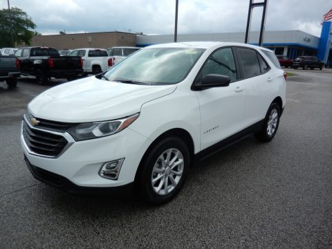 Summit White Chevrolet Equinox LS.  Click to enlarge.