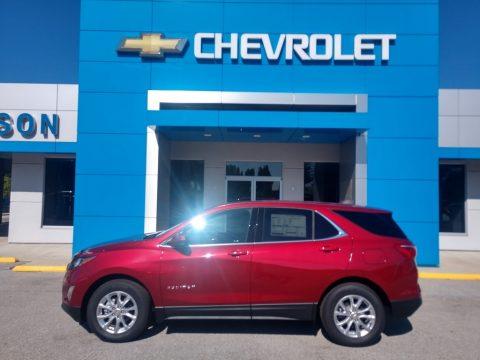 Cajun Red Tintcoat Chevrolet Equinox LT.  Click to enlarge.