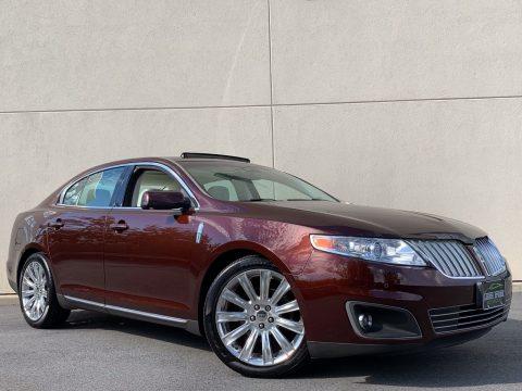 Cinnamon Metallic Lincoln MKS AWD Sedan.  Click to enlarge.