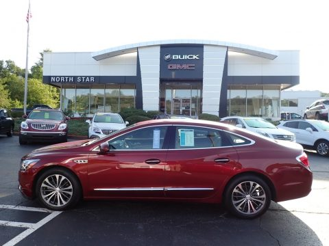 Crimson Red Tintcoat Buick LaCrosse Essence.  Click to enlarge.