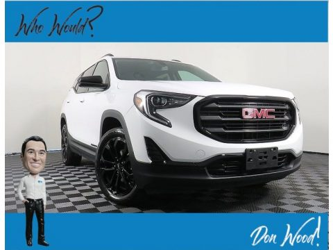 Summit White GMC Terrain SLE AWD.  Click to enlarge.