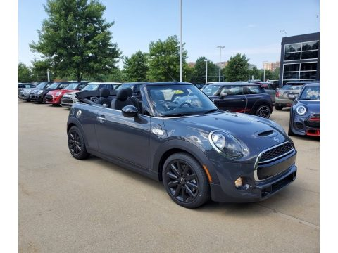 Thunder Grey Metallic Mini Convertible Cooper S.  Click to enlarge.