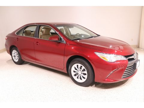 Ruby Flare Pearl Toyota Camry LE.  Click to enlarge.