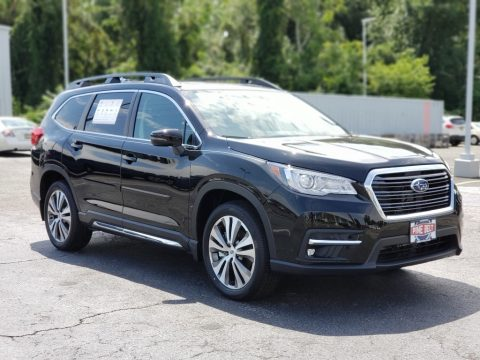 Crystal Black Silica Subaru Ascent Limited.  Click to enlarge.