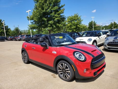 Chili Red Mini Convertible Cooper S.  Click to enlarge.