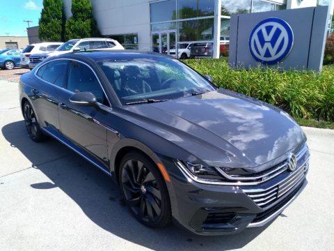 Urano Gray Volkswagen Arteon SEL R-Line 4Motion.  Click to enlarge.