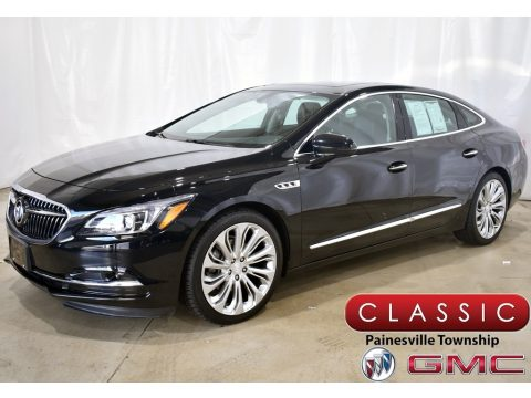 Black Onyx Buick LaCrosse Essence.  Click to enlarge.