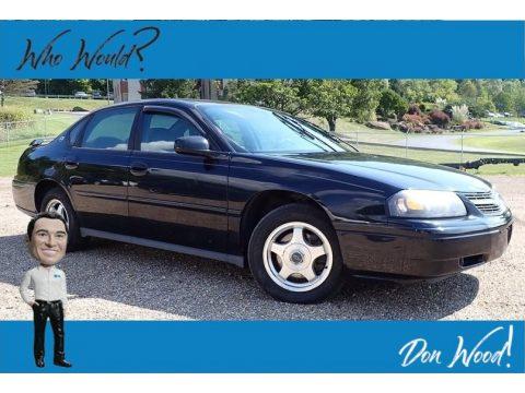 Black Chevrolet Impala .  Click to enlarge.