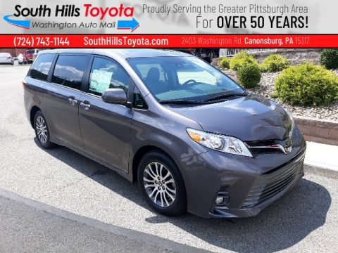 Predawn Gray Mica Toyota Sienna XLE.  Click to enlarge.