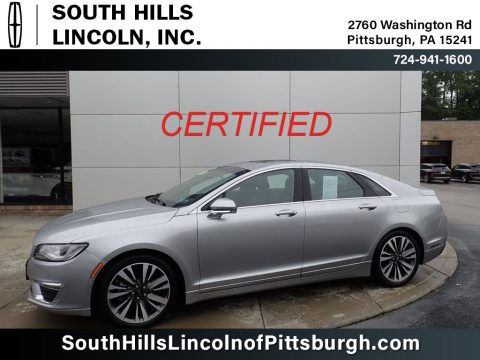 Silver Radiance Lincoln MKZ Reserve AWD.  Click to enlarge.