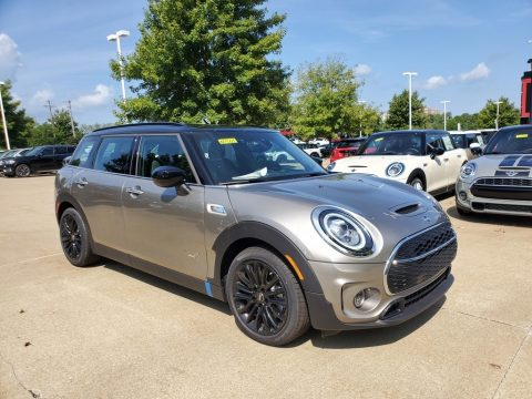 Melting Silver Metallic Mini Clubman Cooper S All4.  Click to enlarge.