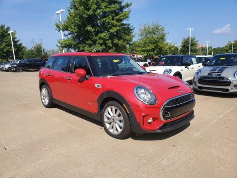 Chili Red Mini Clubman Cooper S All4.  Click to enlarge.