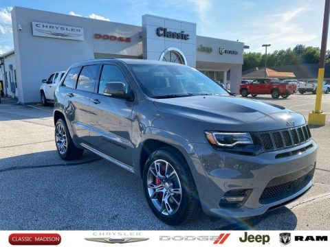 Sting-Gray Jeep Grand Cherokee SRT 4x4.  Click to enlarge.
