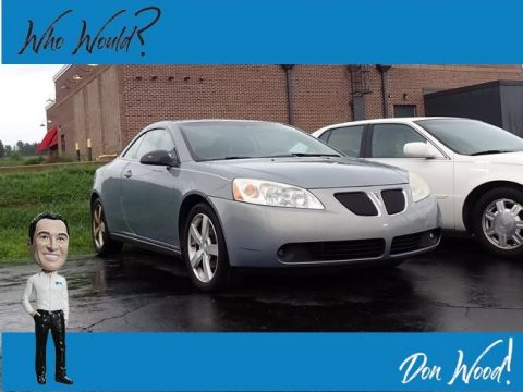 Blue Gold Crystal Metallic Pontiac G6 GT Convertible.  Click to enlarge.