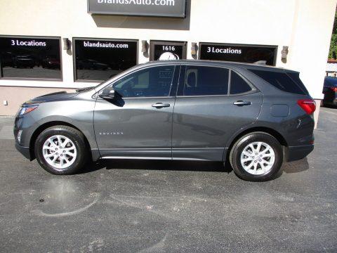 Nightfall Gray Metallic Chevrolet Equinox LS.  Click to enlarge.