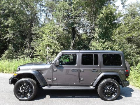 Granite Crystal Metallic Jeep Wrangler Unlimited High Altitude 4x4.  Click to enlarge.