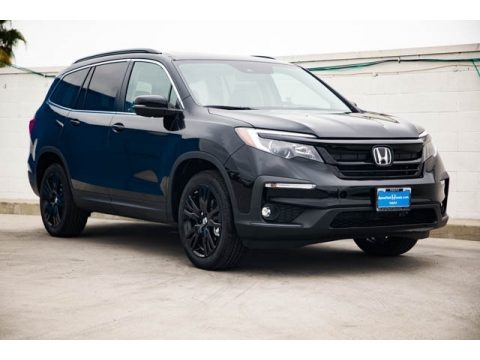 Crystal Black Pearl Honda Pilot Special Edition AWD.  Click to enlarge.