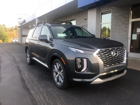 Steel Graphite Hyundai Palisade Limited AWD.  Click to enlarge.