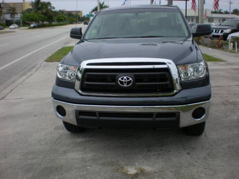 Slate Gray Metallic Toyota Tundra CrewMax 4x4.  Click to enlarge.