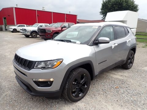 Billet Silver Metallic Jeep Compass Altitude 4x4.  Click to enlarge.