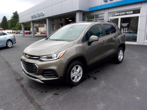 Stone Gray Metallic Chevrolet Trax LT AWD.  Click to enlarge.