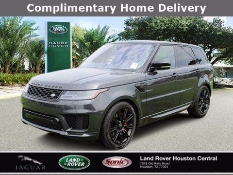 Carpathian Gray Premium Metallic Land Rover Range Rover Sport HST.  Click to enlarge.