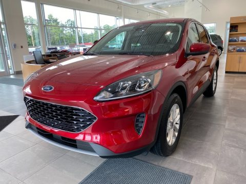 Rapid Red Metallic Ford Escape SE 4WD.  Click to enlarge.