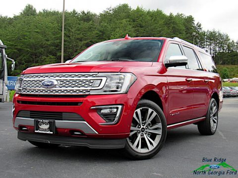 Rapid Red Ford Expedition Platinum 4x4.  Click to enlarge.