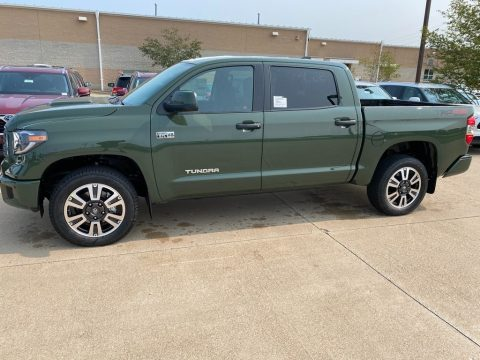 Army Green Toyota Tundra TRD Sport CrewMax 4x4.  Click to enlarge.