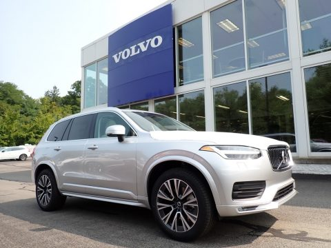 Bright Silver Metallic Volvo XC90 T5 AWD Momentum.  Click to enlarge.