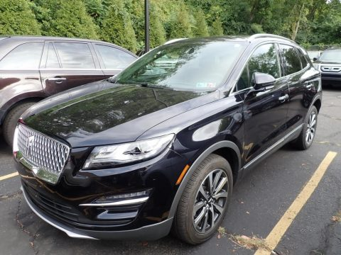 Infinite Black Metallic Lincoln MKC Reserve AWD.  Click to enlarge.