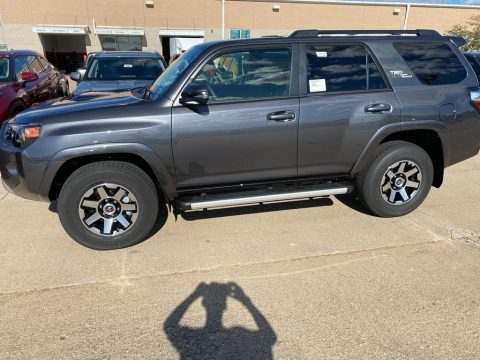 Magnetic Gray Metallic Toyota 4Runner TRD Off-Road Premium 4x4.  Click to enlarge.