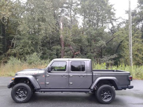 Granite Crystal Metallic Jeep Gladiator Mojave 4x4.  Click to enlarge.