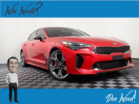 HiChroma Red Kia Stinger GT AWD.  Click to enlarge.