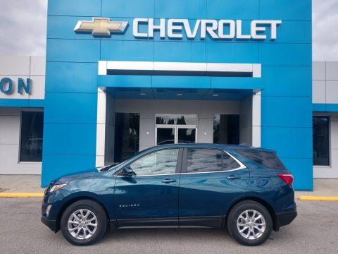 Pacific Blue Metallic Chevrolet Equinox LT.  Click to enlarge.