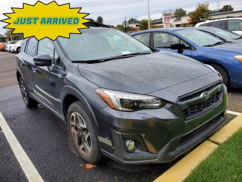 Dark Gray Metallic Subaru Crosstrek 2.0i Limited.  Click to enlarge.