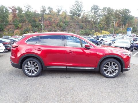 Soul Red Crystal Metallic Mazda CX-9 Grand Touring AWD.  Click to enlarge.