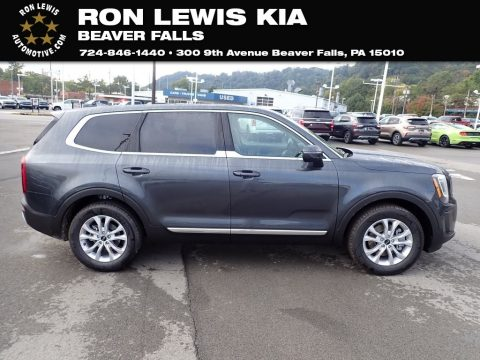 Gravity Gray Kia Telluride LX AWD.  Click to enlarge.