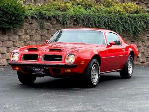 Buccaneer Red Pontiac Firebird Formula 350.  Click to enlarge.