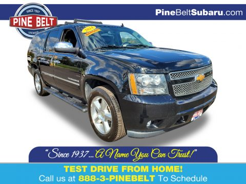 Black Chevrolet Suburban LTZ 4x4.  Click to enlarge.