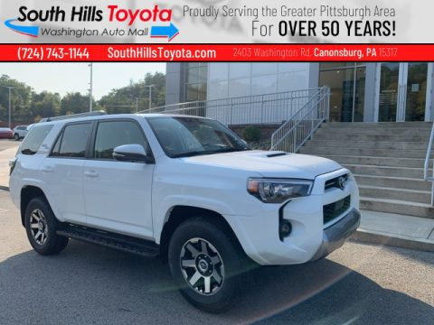 Super White Toyota 4Runner TRD Off Road Premium 4x4.  Click to enlarge.