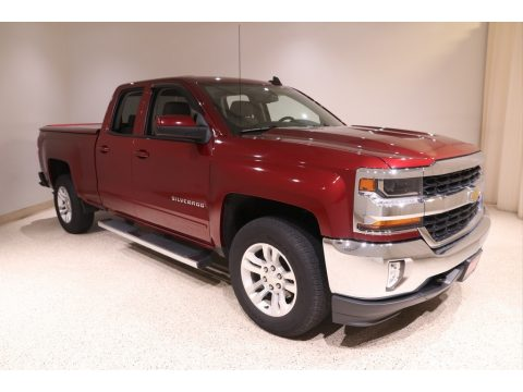 Siren Red Tintcoat Chevrolet Silverado 1500 LT Double Cab 4x4.  Click to enlarge.